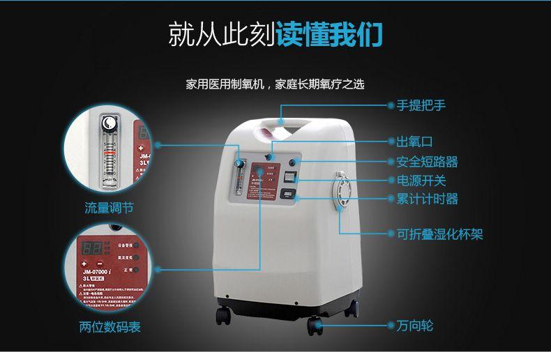 巨贸JM007家用制氧机