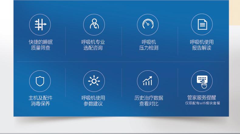飞利浦伟康家用呼吸机DreamStation Auto全自动医用无创睡眠止鼾打呼噜呼吸器